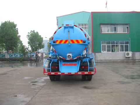 中洁牌XZL5165GXW5型吸污车