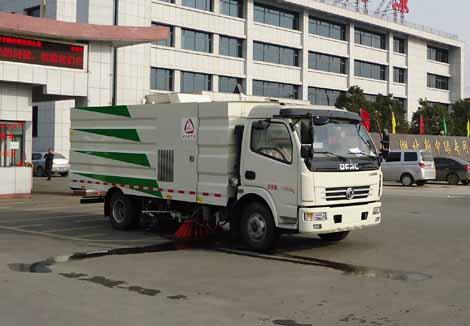 中洁牌XZL5112TXS5型洗扫车