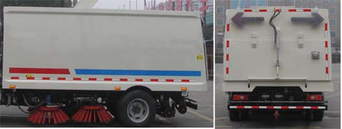 中洁牌XZL5060TSLJ5型扫路车