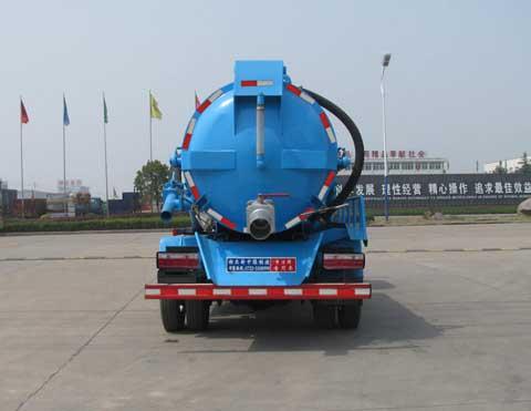 中洁牌XZL5040GXW5型吸污车