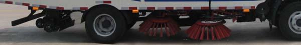 中洁牌XZL5111TXS5型洗扫车