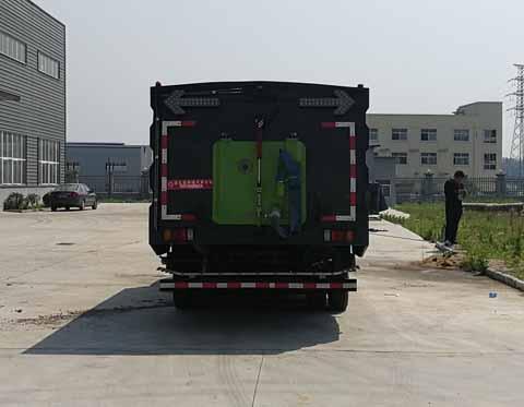 中洁牌XZL5100TXS5型洗扫车