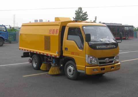 中洁牌XZL5043TSL5型扫路车
