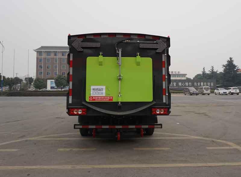 中洁牌XZL5083TSL6型扫路车