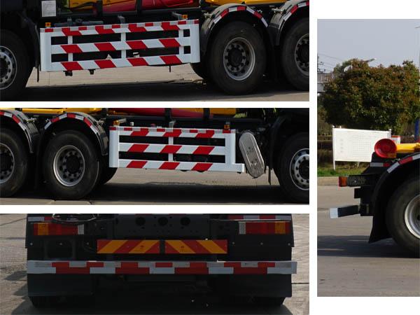 中洁牌XZL5255ZXX6型车厢可卸式垃圾车