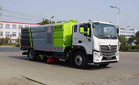 中洁牌XZL5185TXS6型洗扫车