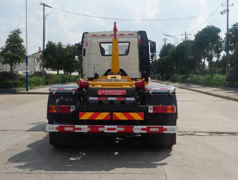 中洁牌XZL5251ZXX6型车厢可卸式垃圾车