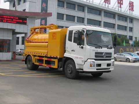 中洁牌XZL5165GQX5型下水道疏通清洗车