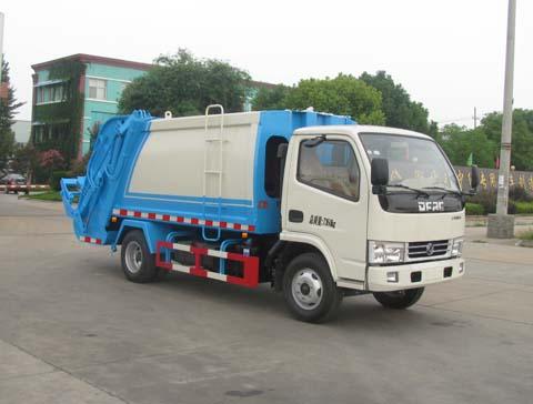 中洁牌XZL5070ZYS5型压缩式垃圾车
