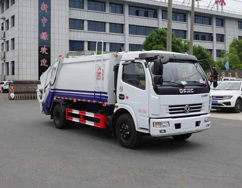 中洁牌XZL5112ZYS5型压缩式垃圾车