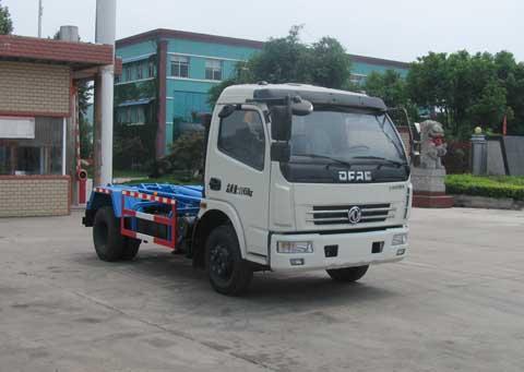 中洁牌XZL5112ZXX5型车厢可卸式垃圾车
