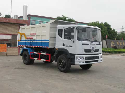 中洁牌XZL5161ZDJ5型压缩式对接垃圾车