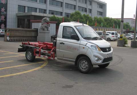 中洁牌XZL5036ZXX5型车厢可卸式垃圾车