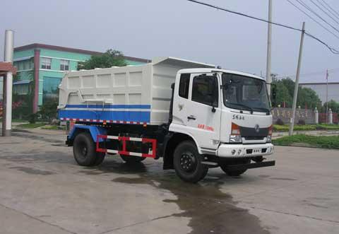 中洁牌XZL5140ZDJ5型压缩式对接垃圾车
