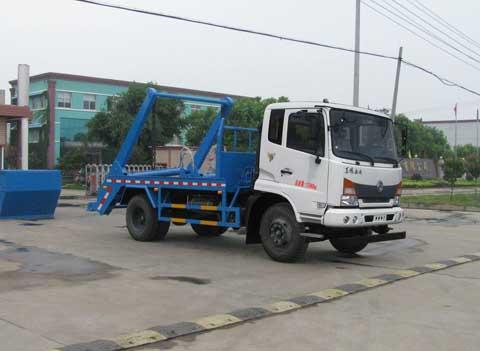 中洁牌XZL5140ZBS5型摆臂式垃圾车
