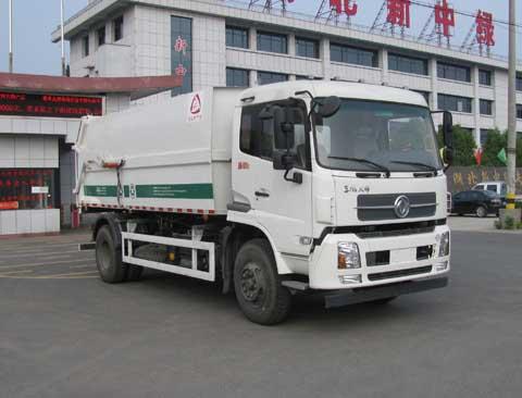 中洁牌XZL5164ZDJ5型压缩式对接垃圾车