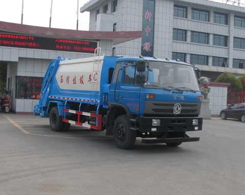 中洁牌XZL5168ZYS5型压缩式垃圾车
