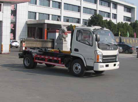 中洁牌XZL5041ZXX5型车厢可卸式垃圾车