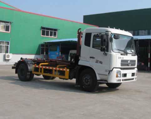 中洁牌XZL5165ZXX5型车厢可卸式垃圾车