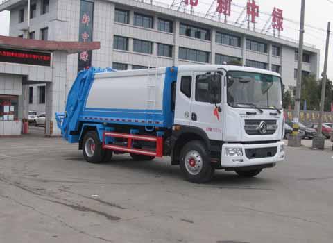 中洁牌XZL5180ZYS5型压缩式垃圾车