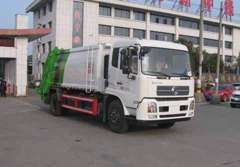 中洁牌XZL5182ZYS5型压缩式垃圾车