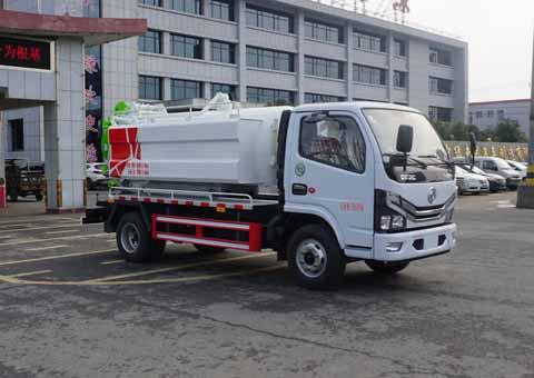 中洁牌XZL5070GQW6型清洗吸污车