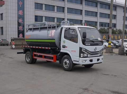 中洁牌XZL5070GXW6型吸污车