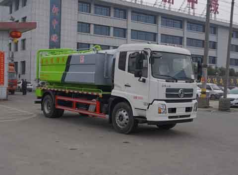 中洁牌XZL5182GQW6型清洗吸污车