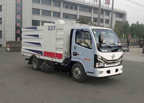 中洁牌XZL5070TXC6型吸尘车