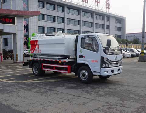 中洁牌XZL5040GQW6型清洗吸污车