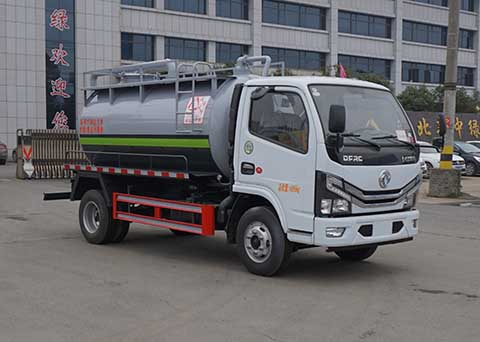 中洁牌XZL5040GXW6型吸污车