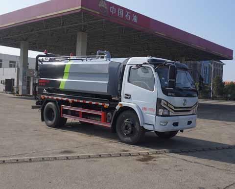 中洁牌XZL5120GQW6型清洗吸污车