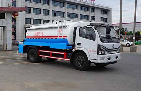 中洁牌XZL5121GQW6型清洗吸污车