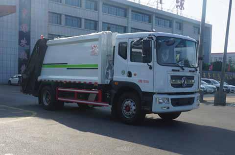 中洁牌XZL5180ZYS6型压缩式垃圾车