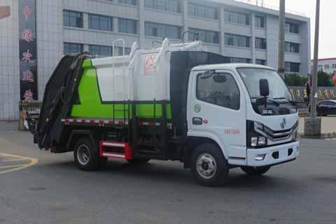 中洁牌XZL5070ZYS6型压缩式垃圾车