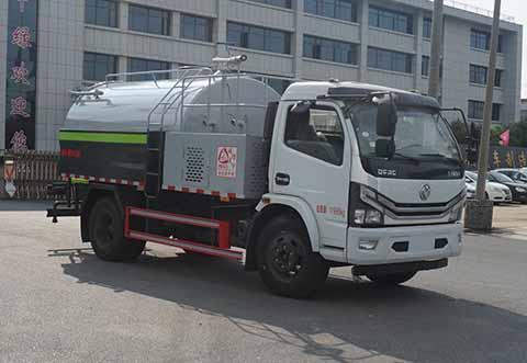 中洁牌XZL5122GPS6型绿化喷洒车