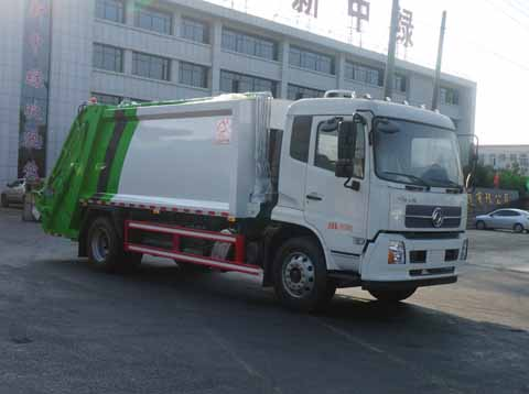 中洁牌XZL5182ZYS6型压缩式垃圾车