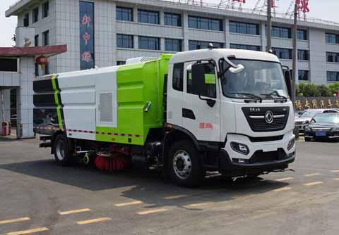 中洁牌XZL5182TXS6型洗扫车