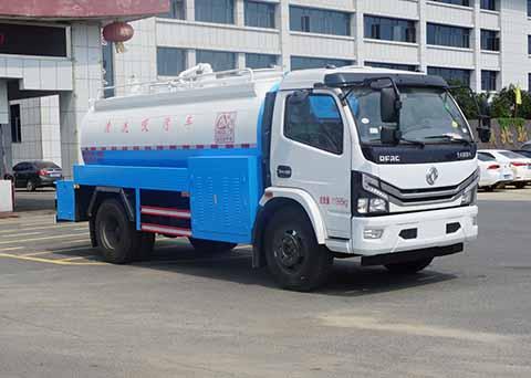 中洁牌XZL5122GQW6型清洗吸污车