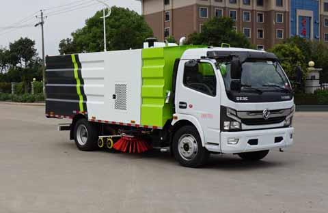 中洁牌XZL5120TXS6型洗扫车